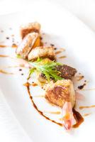 Foie gras, grilled