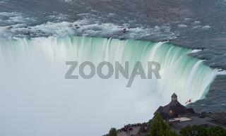 Canadian Horseshoe Falls at Niagara
