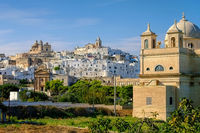 Ostuni in Apulien, Italien - the old town Ostuni in Apulia, Italy