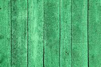 Wooden green fence texture