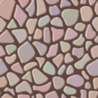 Seamless rock wall abstract pattern