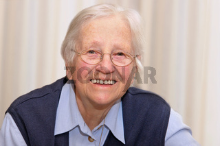 Portrait of a 90 years of age senior woman