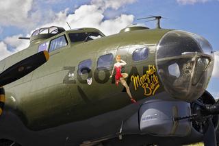 Aircraft B17 Flying Fortress UK