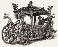 Carriage of Dom John V, King of Portugal and the Algarves