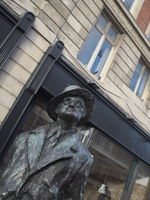 Dublin - Statue of James Joyce, Ireland
