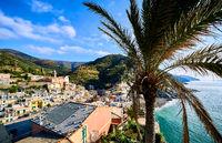 Vernazza, small coastal village in the Italian region of Liguria, Cinque Terre. Province of La Spezia