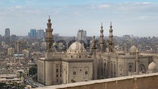 Al Sultan Hasan and Al Rifaii Mosques, Cairo, Egypt