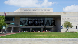 National Constitution Center located on Independence mall in Philadelphia, Pennsylvania
