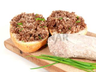 Rinderwurstbrötchen