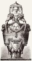 Neoclassical design by Ennemond-Alexandre Petitot