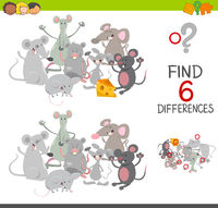 differences game with mice