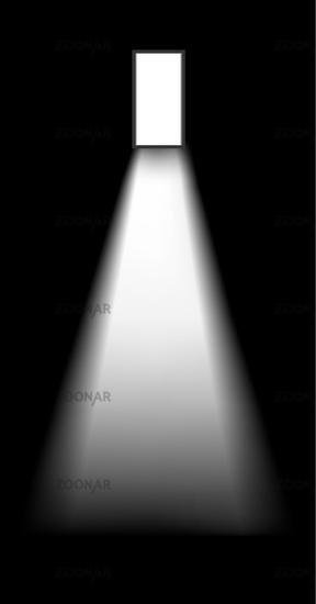 Photo open door of a dark room Image 1665417