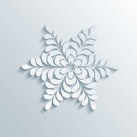 Holiday 3D Snowflake