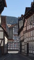 Goslar - Old town alley, Germany