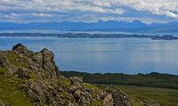 Schottische Küste vor der Halbinsel Trotternish