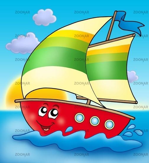 лодки в рисунках для детей