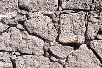 View on a natural stone surface