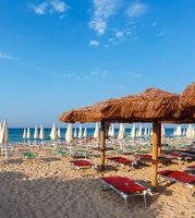 Beach Maldives of Salento, Pescoluse, Puglia, Italy