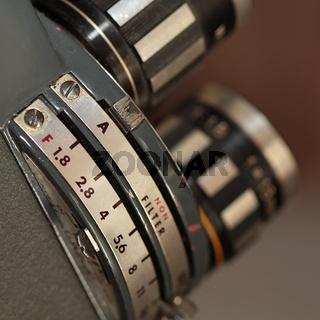 Schmalfilm Kamera Details