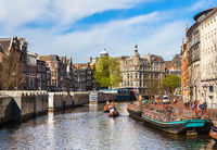 Celebration of queensday on April 30, 2012 in Amsterdam.