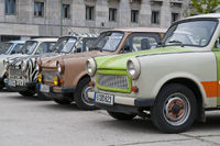 Alte DDR Autos der Marke Trabant | Old GDR cars of the brand Trabant, Berlin, Germany