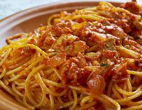 spaghetti arrabbiata pasta