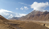 Mountain Landscape in Southern Kyrgyzstan