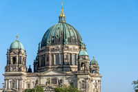 The Berlin Cathedral on a sunny day