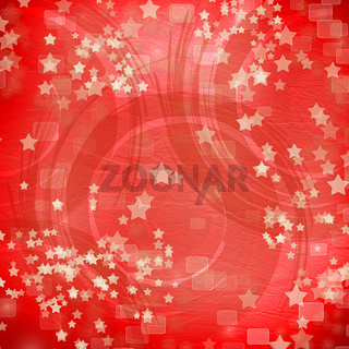 multicoloured backdrop for greetings or invitations with stars