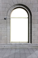 Big arch window