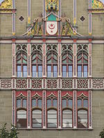 Halle - Courthouse, Historicism, Germany
