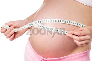 schwangeres mädchen