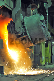 Working in a foundry