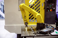 Robotic Arm modern industrial technology.
