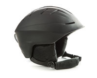 The black ski helmet.