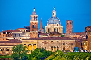 City of Mantova skyline view