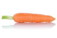 Karotte Möhre frisch Gemüse Freisteller freigestellt isoliert