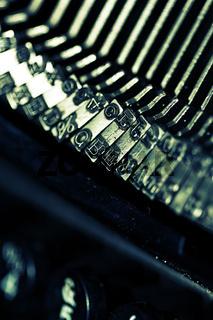 schreibmaschinen lettern