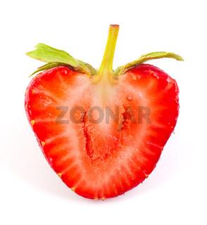 Cut strawberrie