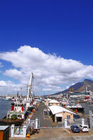 port at Waterfront in Cape Town, South Africa