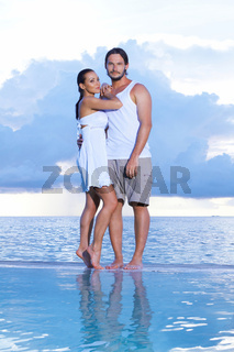 Couple at Maldives