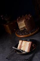 delicious chocolate - coffee pie