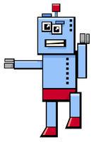 robot cartoon fantasy character
