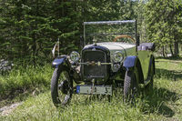 Oldtimer in the nature