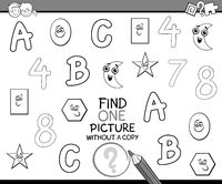 educational activity for coloring