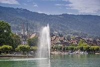 Zug at lake Zug