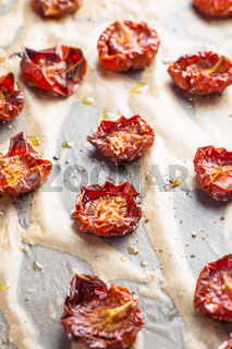 Tasty dried tomatoes.