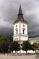 Church of Hjo in Sweden
