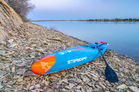 racing stand up paddleboard by Starboard