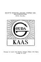 Historic trademark for Gouda Cheese from 1900